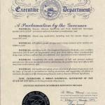 Nevada 2012 Proclamation