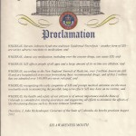 Colorado Proclamation 2012