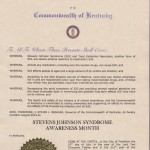Kentucky 2012 Proclamation